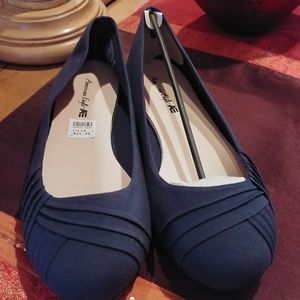 New Ladies Flat Ballerina Shoes by American Eagle